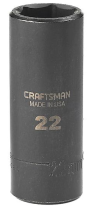 Craftman 22mm Deep Socket