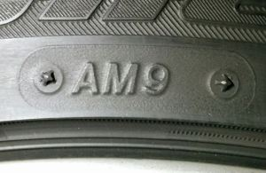 Aston Martin Approved Tire Marking