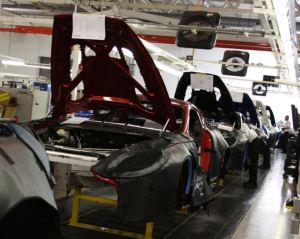 Gaydon Factory Assembly Line