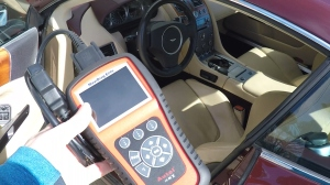 Using an OBDII Code Reader with an Aston Martin DB9