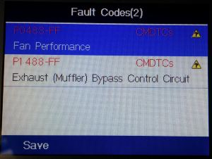 P Codes found on an Aston Martin DB9