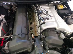 Aston Martin DB9 Coil Pack Change in Progress