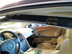 Rigging the Interior Apart to remove the Sagging Headliner on my Aston Martin DB9