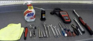 Tools Required to Change the Coil Packs and Spark Plugs on an Aston Martin DB9