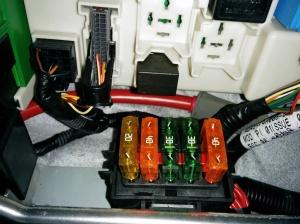 Aston Martin DB9 Cabin Fusebox Stand Alone Fuses