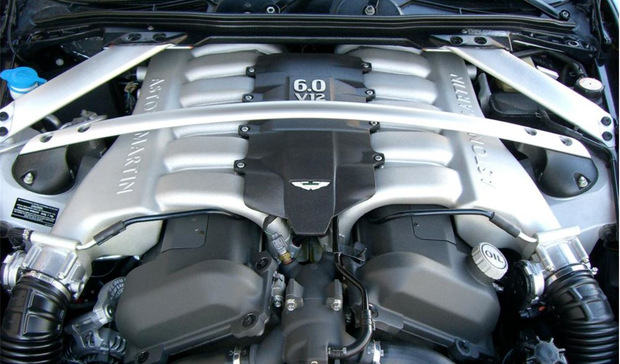 Removing the Engine Bay Cross Braces from an Aston Martin DB9