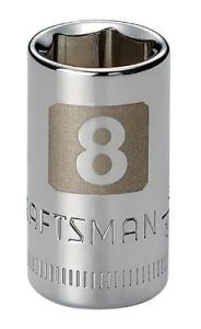 Craftsman 8mm 6-point socket