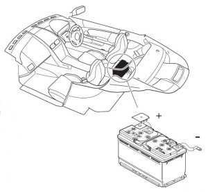 Location of Battery in an Aston Martin DB9