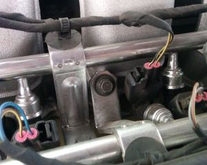 fuel-rail-8mm-mounting-bolt-on-an-aston-martin-db9