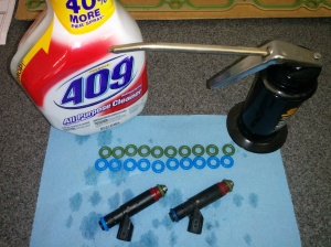 preparing-the-fuel-injectors-for-installation-in-an-aston-martin-db9