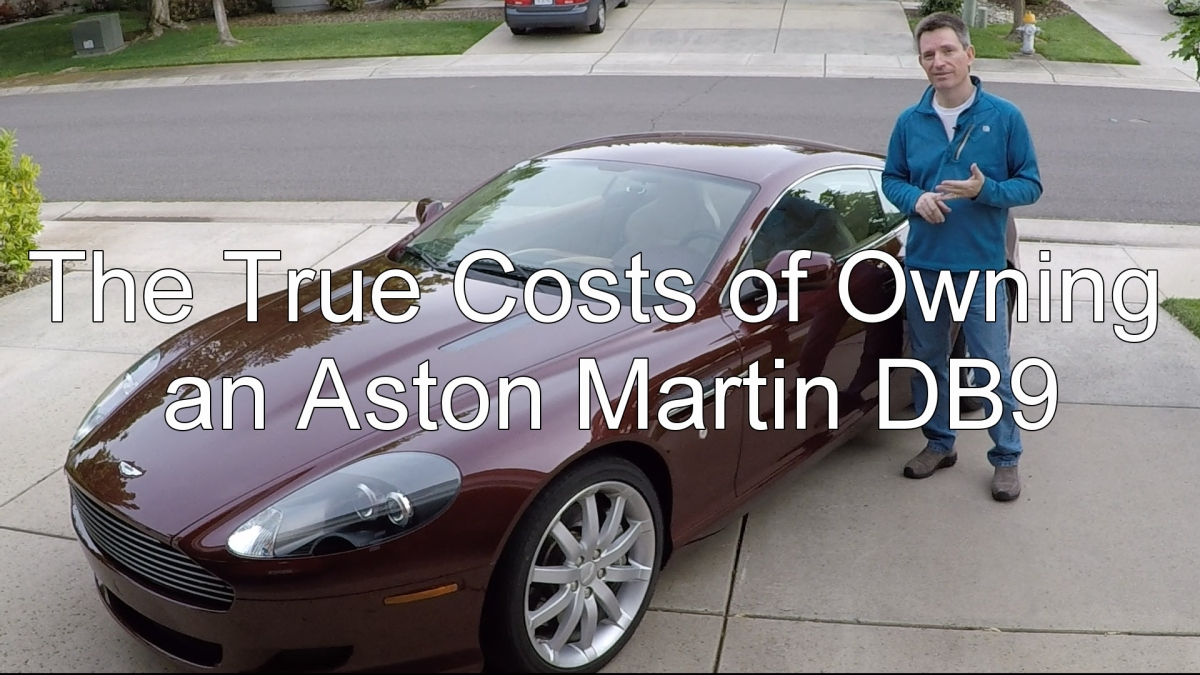 The True Costs Of Owning An Aston Martin DB Aston - How much does a aston martin cost
