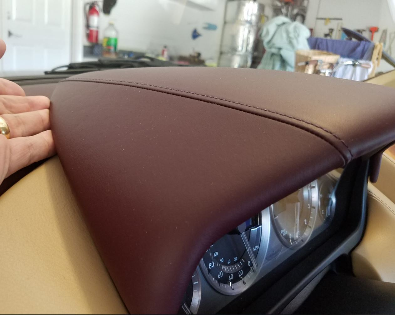 how to remove the drivers side dash panels from an aston martin db9
