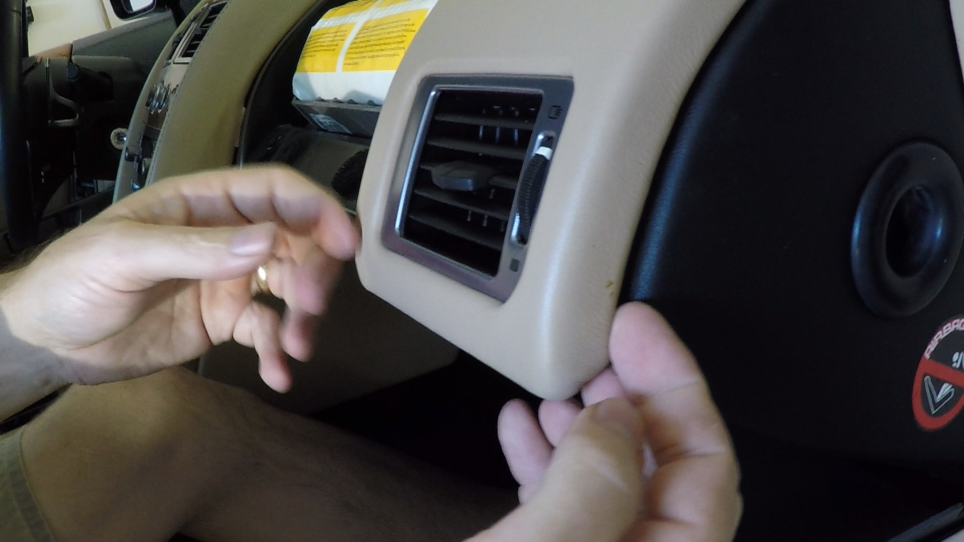 how to remove the passenger side dash panels from an aston martin