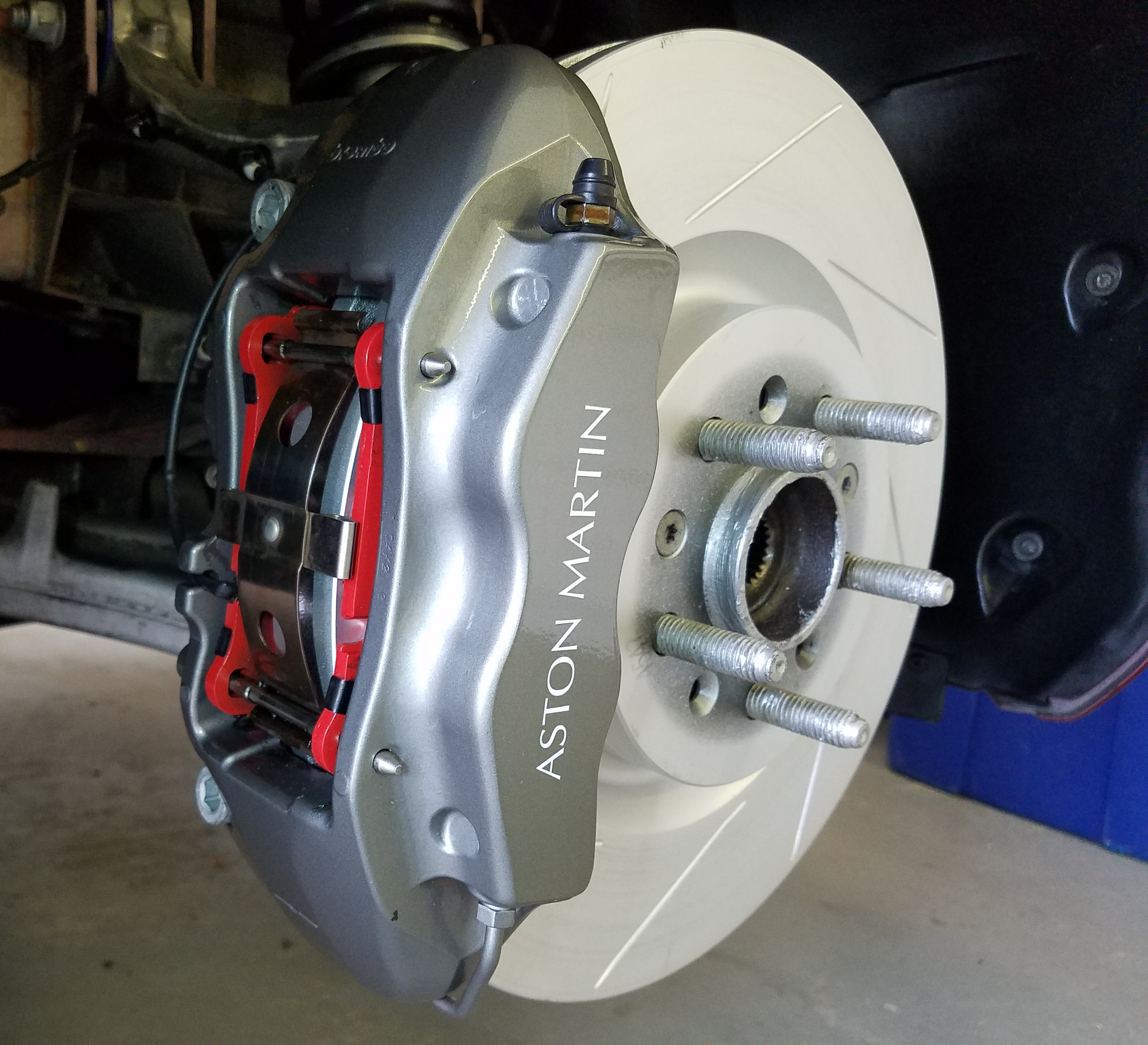 parts needed for a full brake service of an aston martin db9 – aston