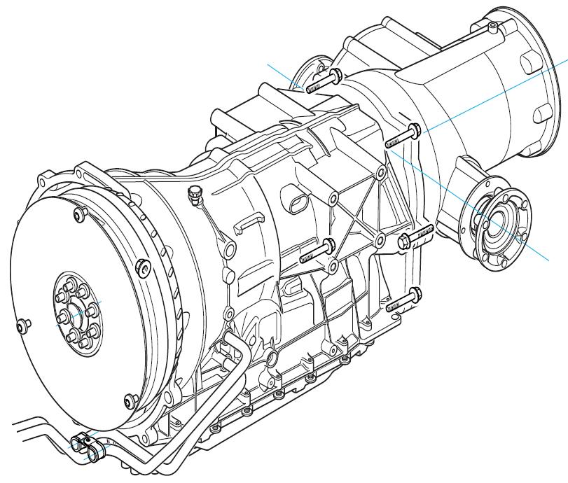 The Aston Martin DB9 Automatic Transmission