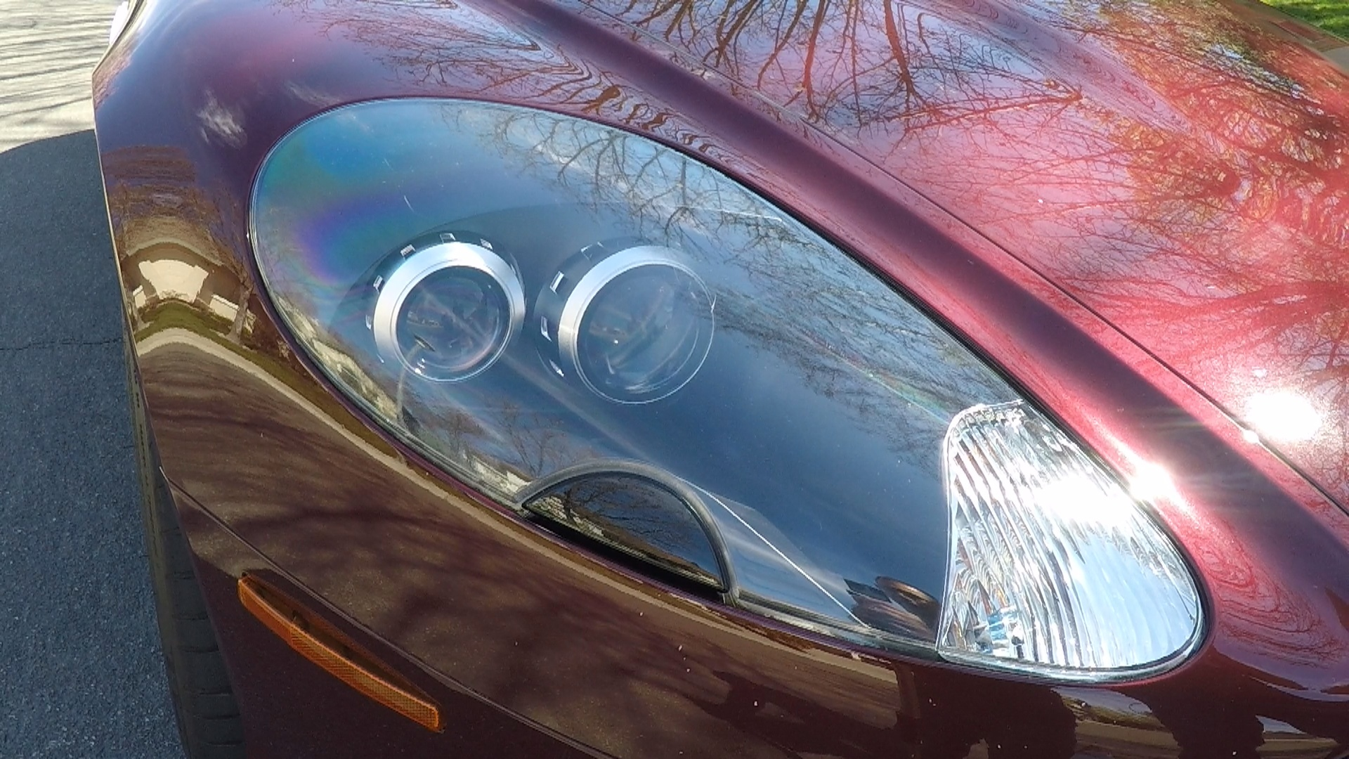 Protecting The Headlights Of An Aston Martin DB9 Using